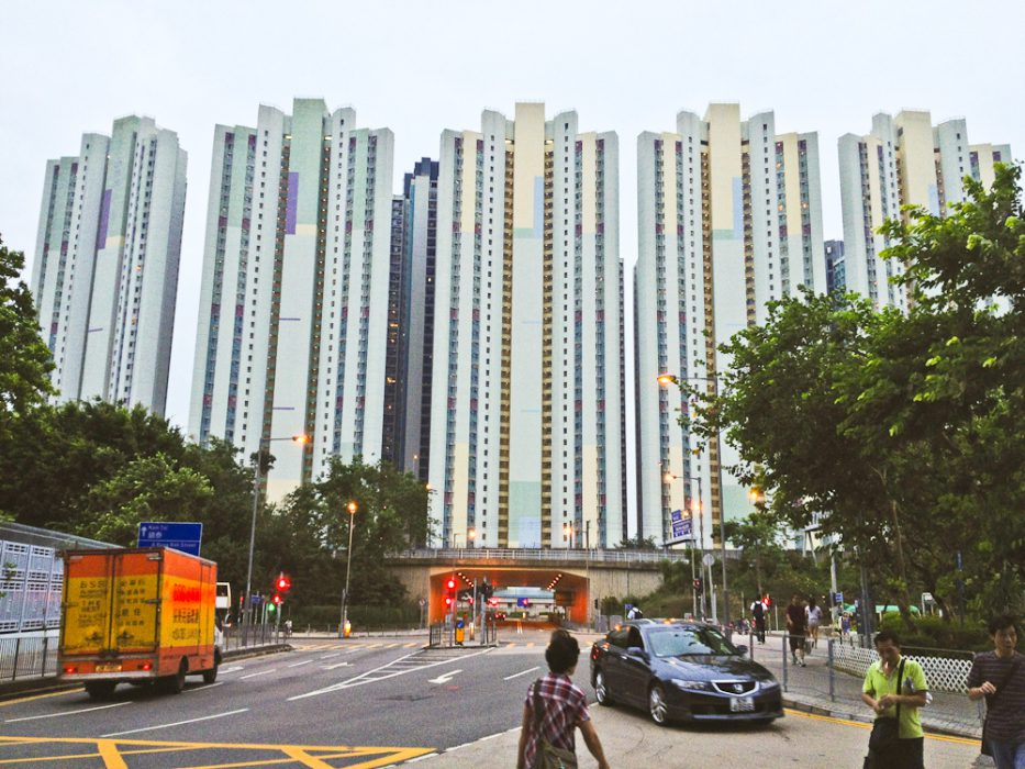 Suburban Transit Orientated Development in Hong Kong's Shatin District