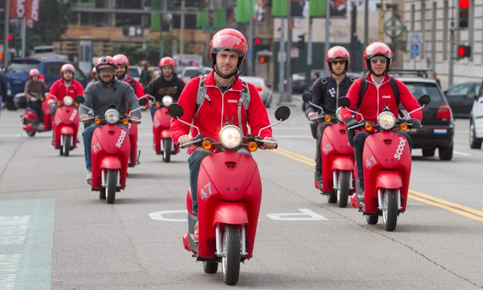 Scoot army via Scoot Networks