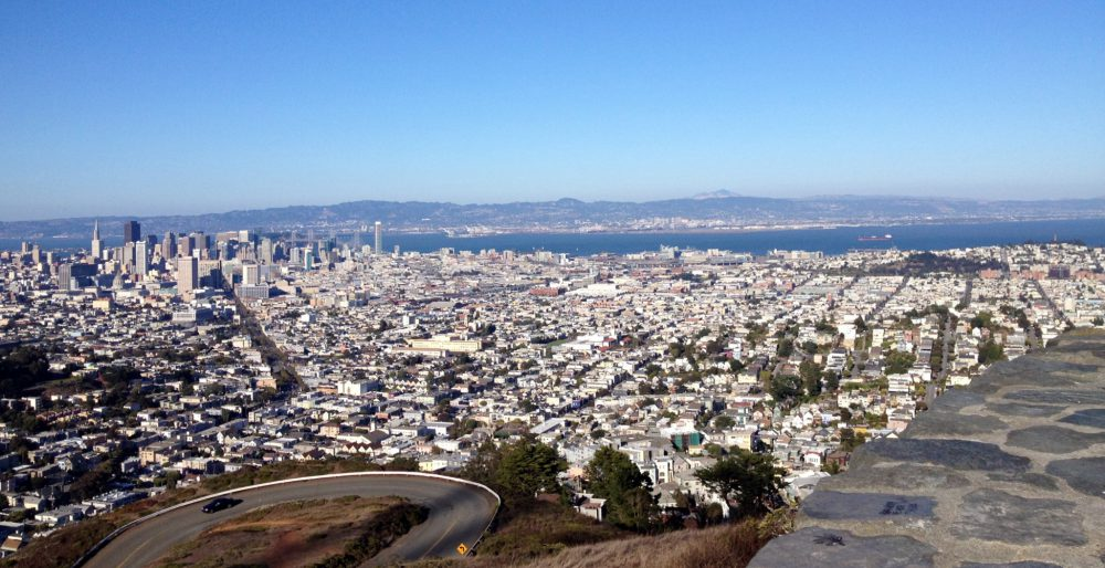 Panorama of SF from Twin Peaks (My Photo)